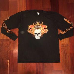 Men's Harley Davidson T-shirt size XL long sleeve